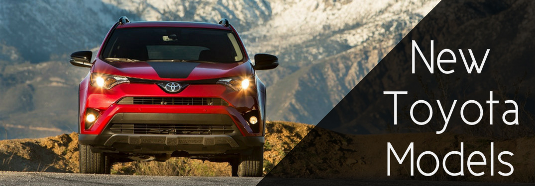 New Toyota Models Debut At The Chicago Auto Show - All new toyota models