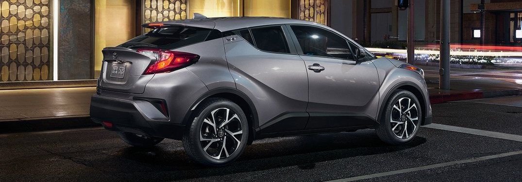 What Colors Does the 2018 Toyota C-HR Come in?
