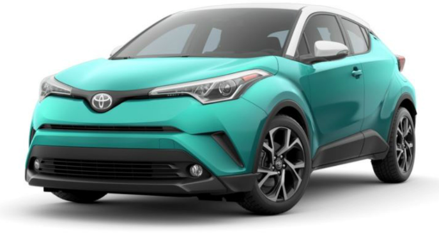 What Colors Does The 2018 Toyota C Hr Come In