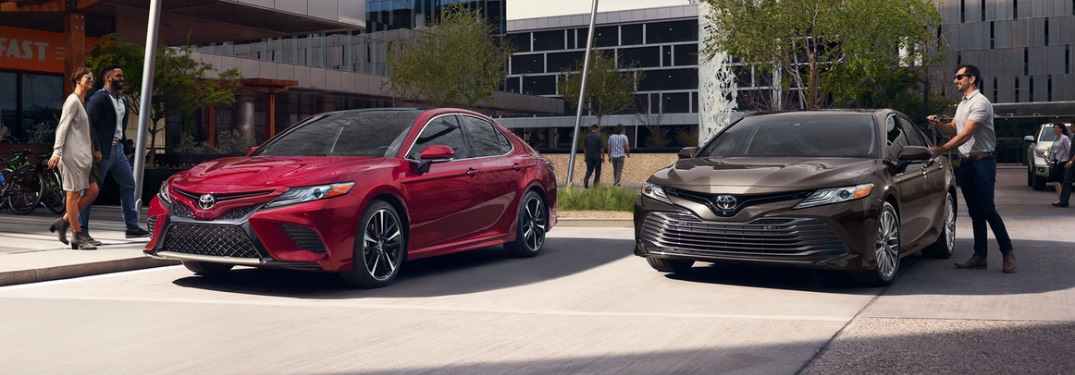 What Colors Does the 2018 Toyota Camry Come in?