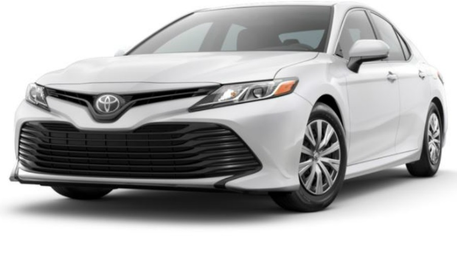 2018 Toyota Camry in Super White