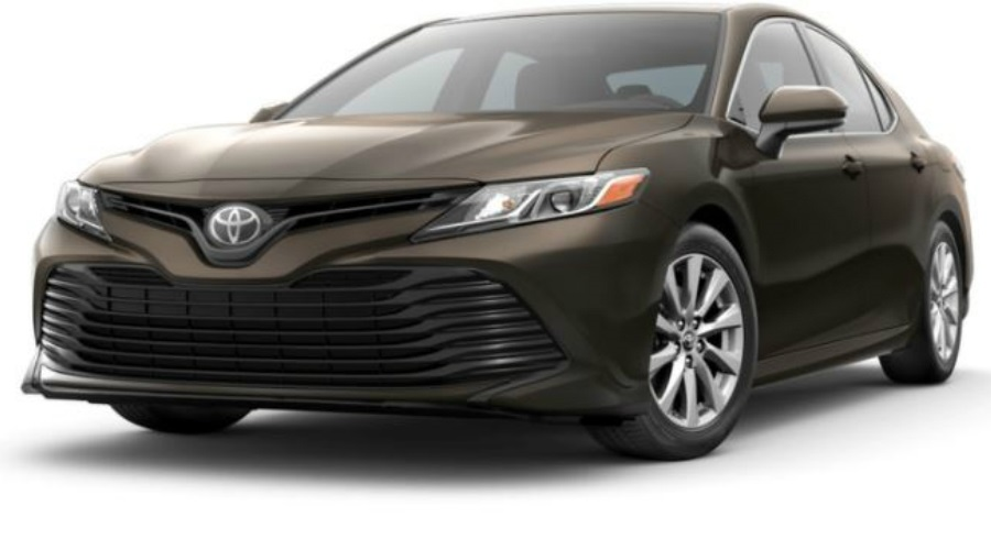 2018 Toyota Camry in Brownstone