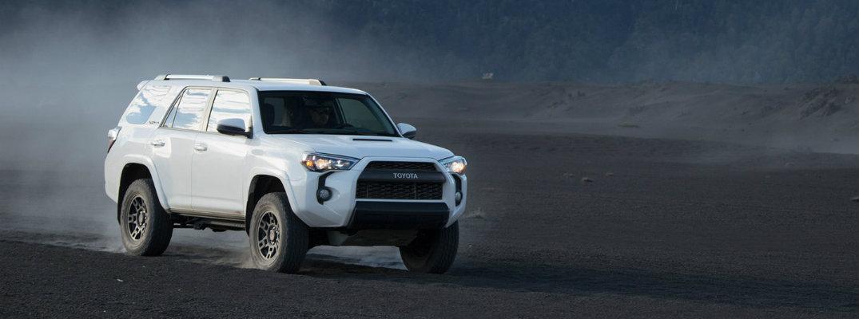 2019 Toyota 4Runner TRD Pro driving in the desert