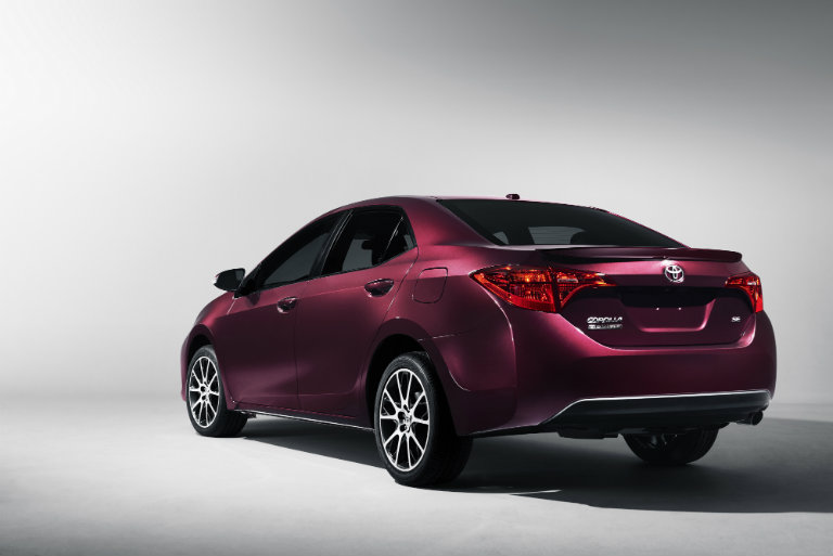 2018 Toyota Corolla from the side