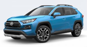 2019 Toyota RAV4 Adventure in Blue Flame