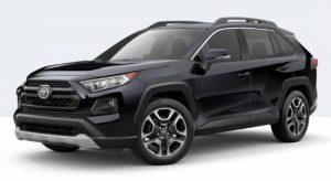 2019 Toyota RAV4 Adventure in Midnight Black Metallic