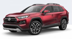 2019 Toyota RAV4 Adventure in Ruby Flare Pearl