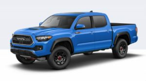 2019 Toyota Tacoma TRD Pro in Voodoo Blue