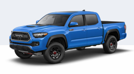 2019 Toyota Tacoma Trd Pro In Voodoo Blueedit O Lemieux Son Toyota