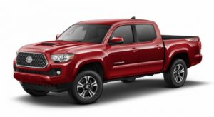 2019 Toyota Tacoma in Barcelona Red Metallic