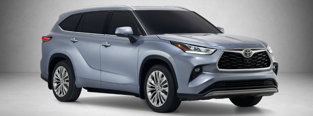 Introducing the new 2020 Toyota Highlander!