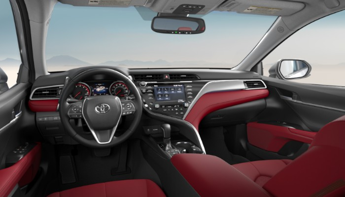 2019-Toyota-Camry-Cockpit-Red-Leather-interioredit_o ...