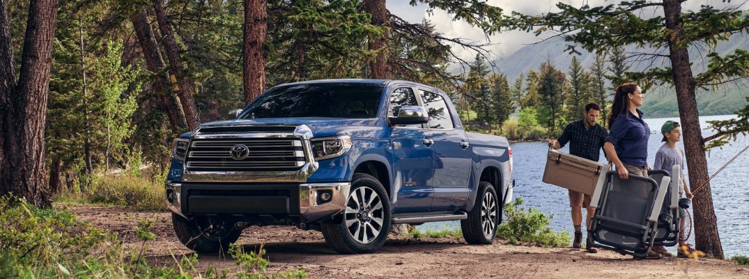 What is the 2020 Toyota Tundra's towing capacity?