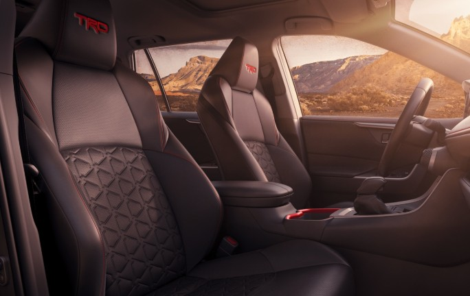 Cabin of the 2020 Toyota TRD Off-Road