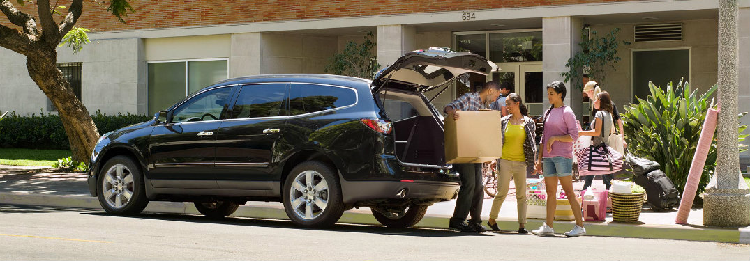 How Much Cargo Space Does The 2017 Chevy Traverse Have