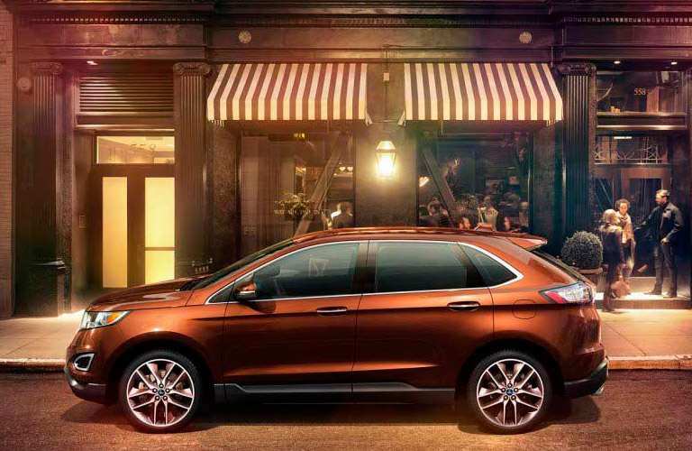 The  Ford Edge Is A Midsize Suv  Ford Explorer