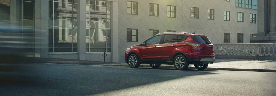 ... 2018 Ford Escape Parked In Front Of A Building