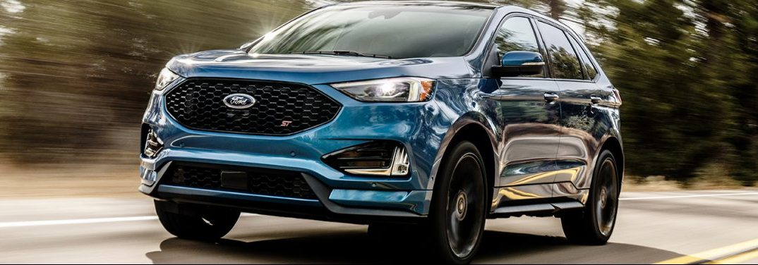 Front Fascia Of The  Ford Edge
