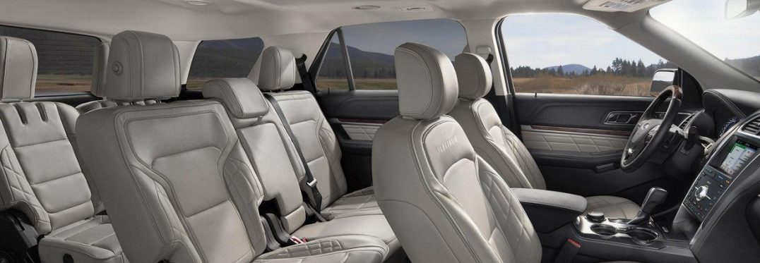 How many passengers does the 2019 Ford Explorer seat?