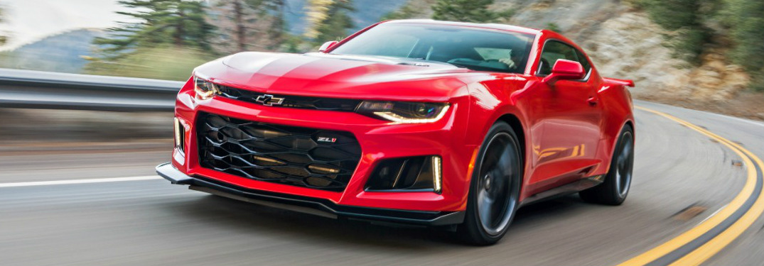 How fast can the 2017 Chevy Camaro ZL1 Coupe go?