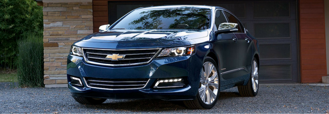 2018 Chevy Impala in blue