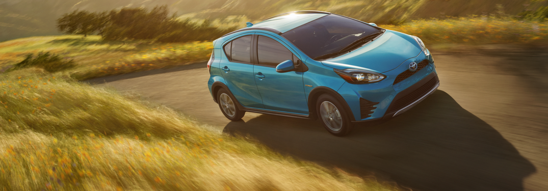 the 2018 Toyota Prius C comes standard with Toyota Safety Sense
