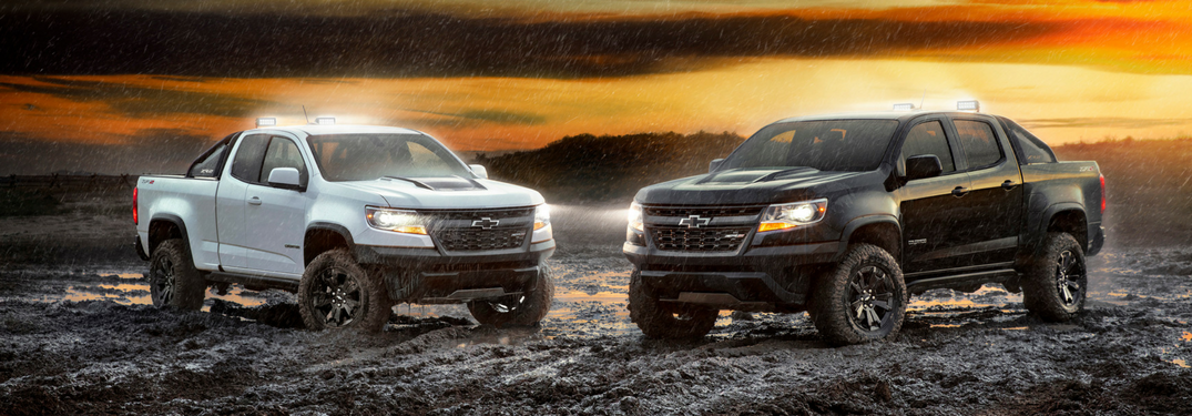 2018 Chevy Colorado ZR2 Dusk and Midnight Editions