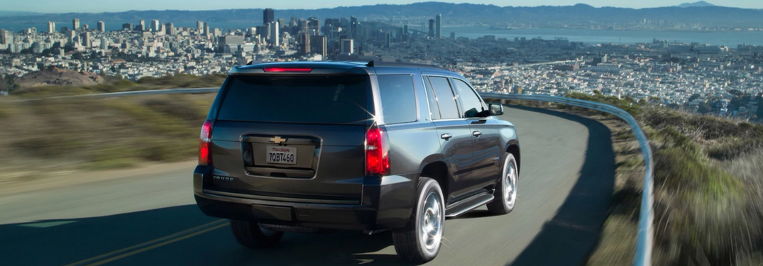 2018 Chevy Tahoe in gray