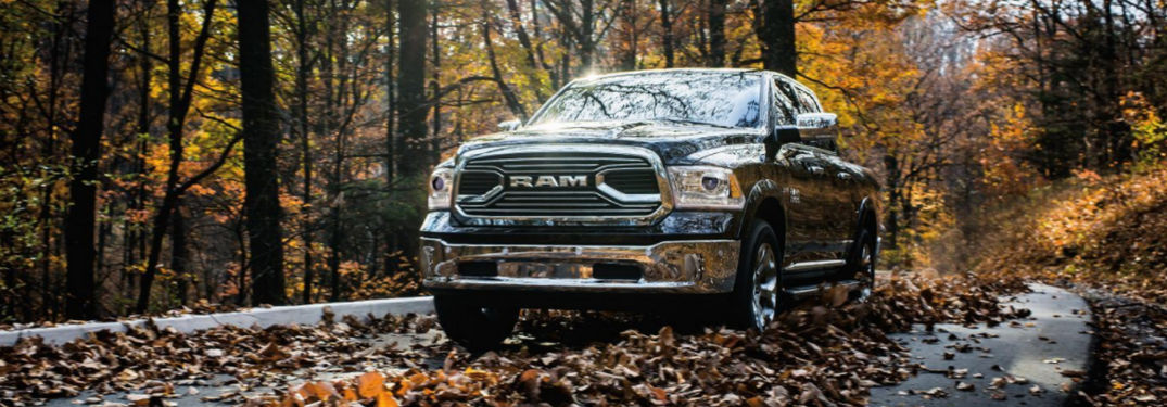 2018 Ram 1500 drives on fall road
