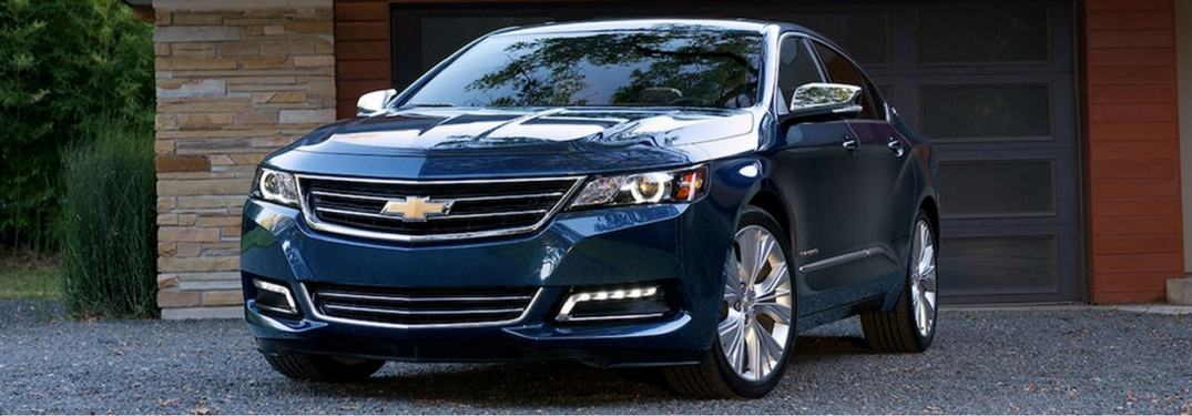 2018 Chevy Impala front view