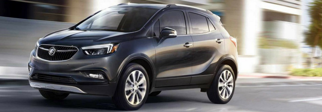 Check out this compact Buick crossover