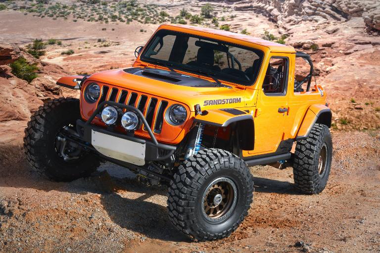 2018 Jeep Sandstorm