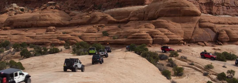 Screen shot of 2018 Easter Moab Jeep Safari