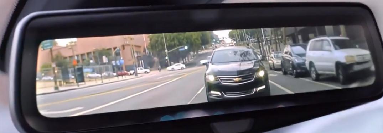 Chevrolet Rear Camera Mirror in action