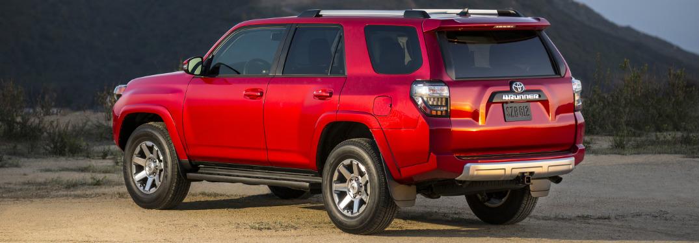 2018 Toyota 4Runner in red