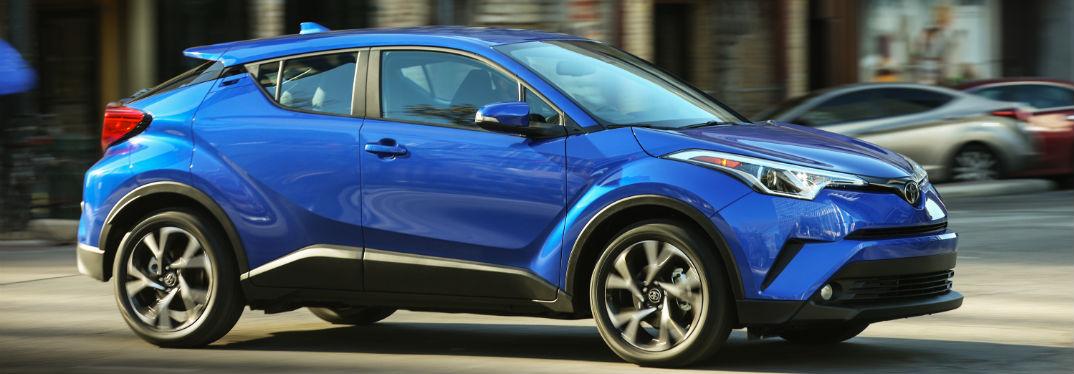 2018 Toyota C-HR in blue