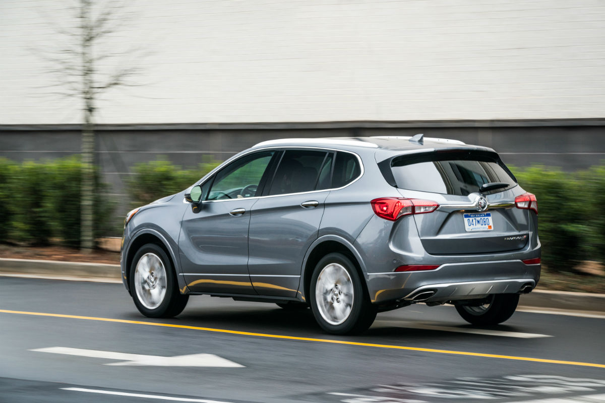 2019 Buick Envision rear side view