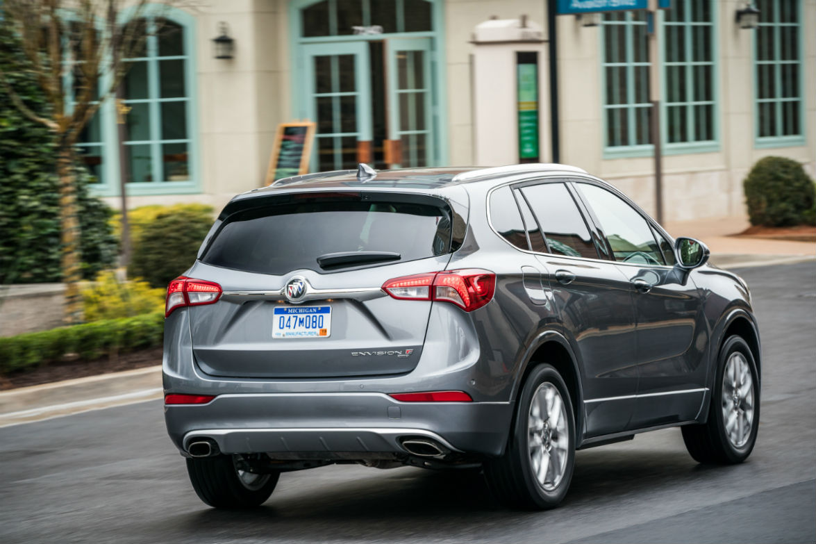 2019 Buick Envision rear view