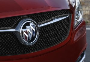 2019 Buick LaCrosse Sport Touring grille