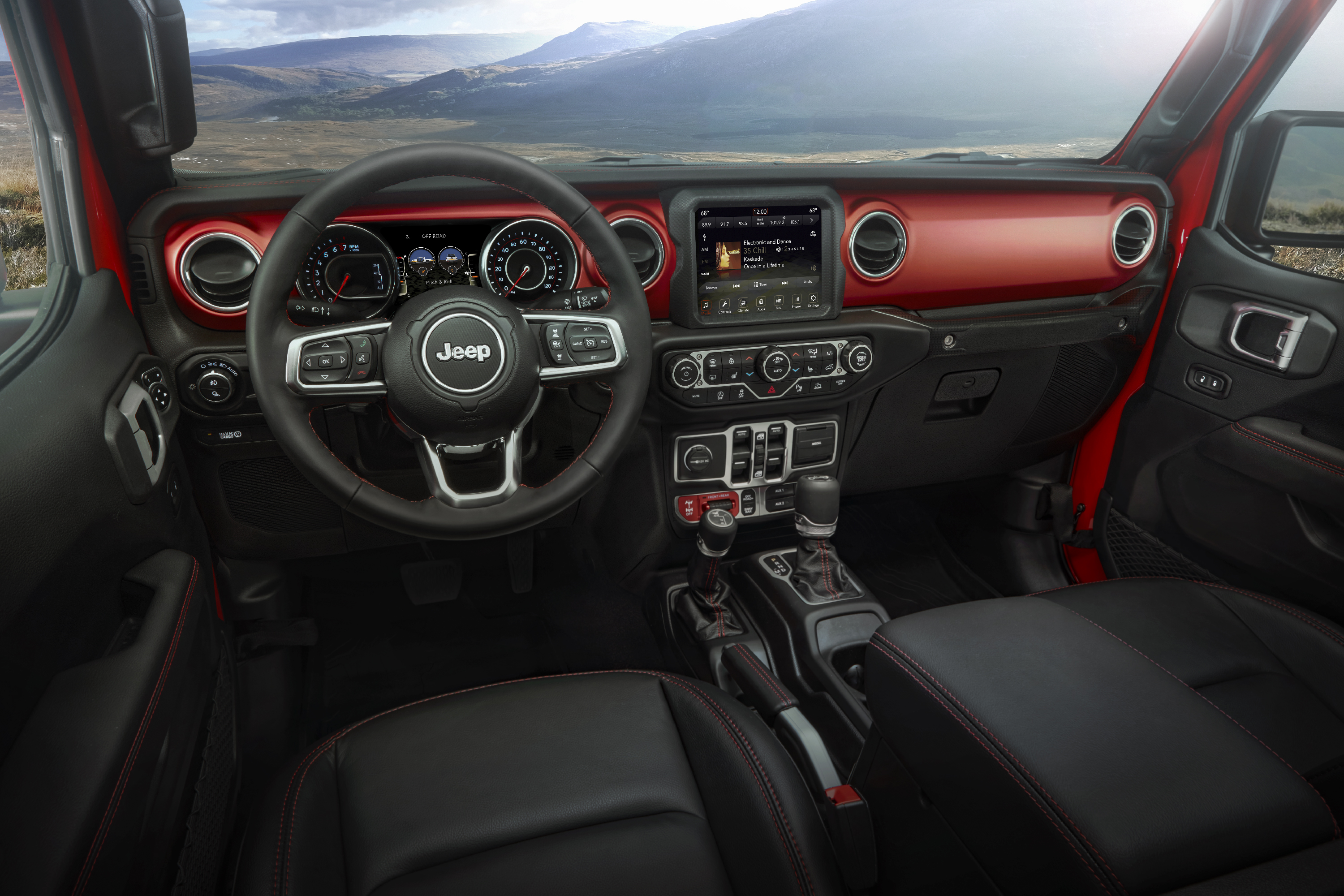 2020 Jeep® Gladiator – interior - Peppers Automotive Group