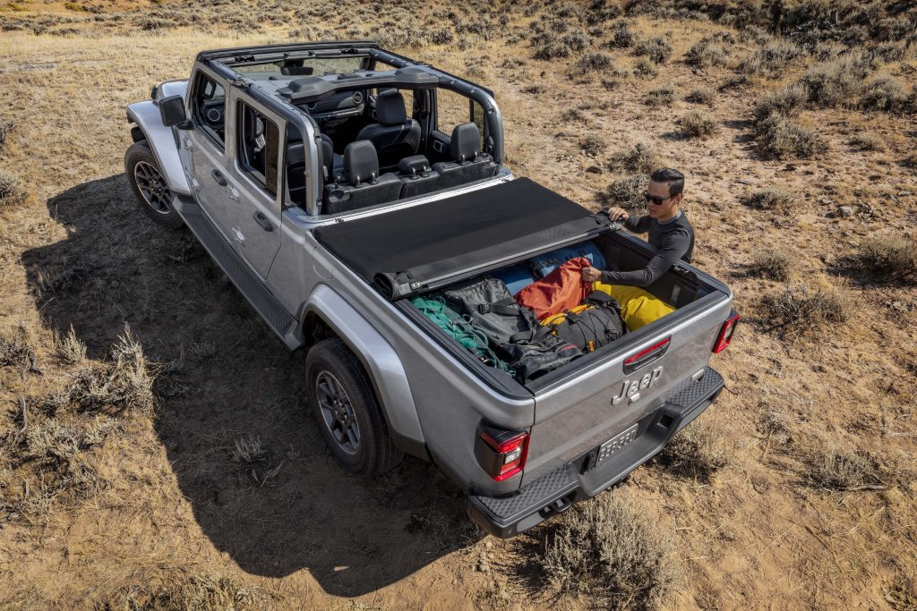 Mopar tonneau cover for all-new 2020 Jeep® Gladiator