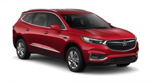 2019 Buick Enclave in Red Quartz Tintcoat