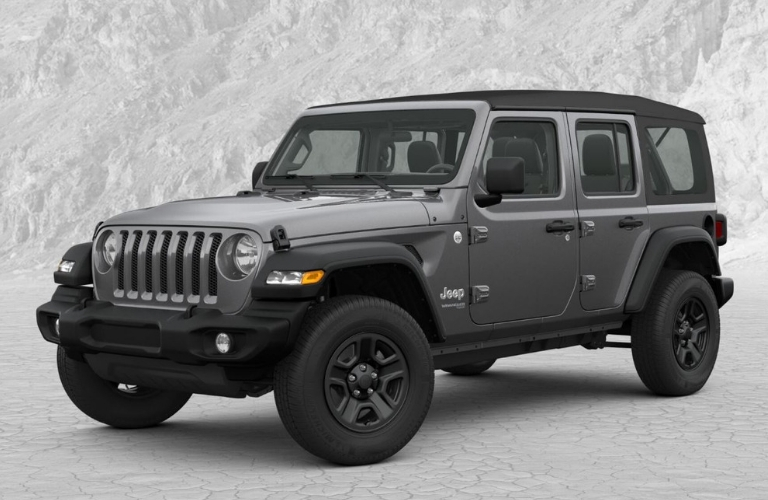 2019 Jeep Wrangler in Granite Crystal Metallic