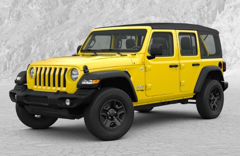 2019 Jeep Wrangler in Hellayella Yellow