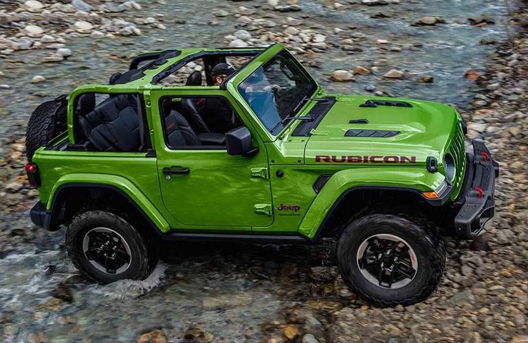 2019 Jeep Wrangler in Mojito Green
