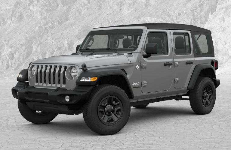2019 Jeep Wrangler in Sting Gray