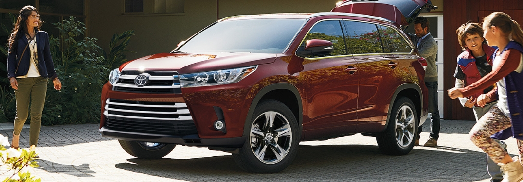 2019 Toyota Highlander Interior and Exterior Color Options