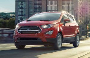 Red 2019 Ford Ecosport
