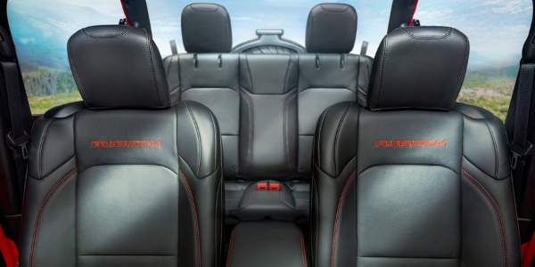 Seating in 2019 Jeep Wrangler