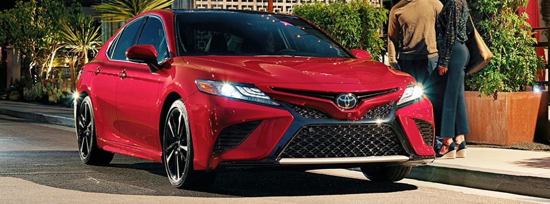 Exterior Colors and Styling Features on the 2019 Toyota Camry